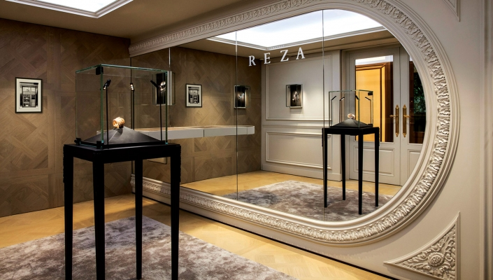 Alexandre Reza Place Vendome Mobiliers Salon Studio Poulanges